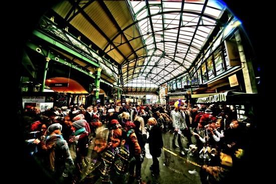 Bustle at Borough Market Simon Hadleigh-Sparks