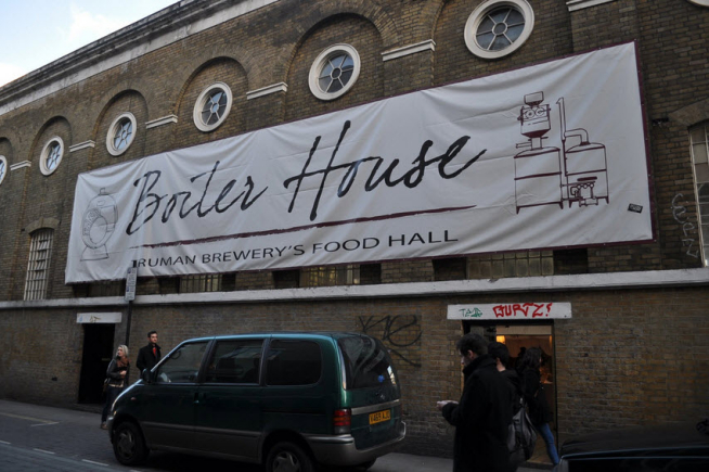 Brick Lane, The Boiler House Food Hall