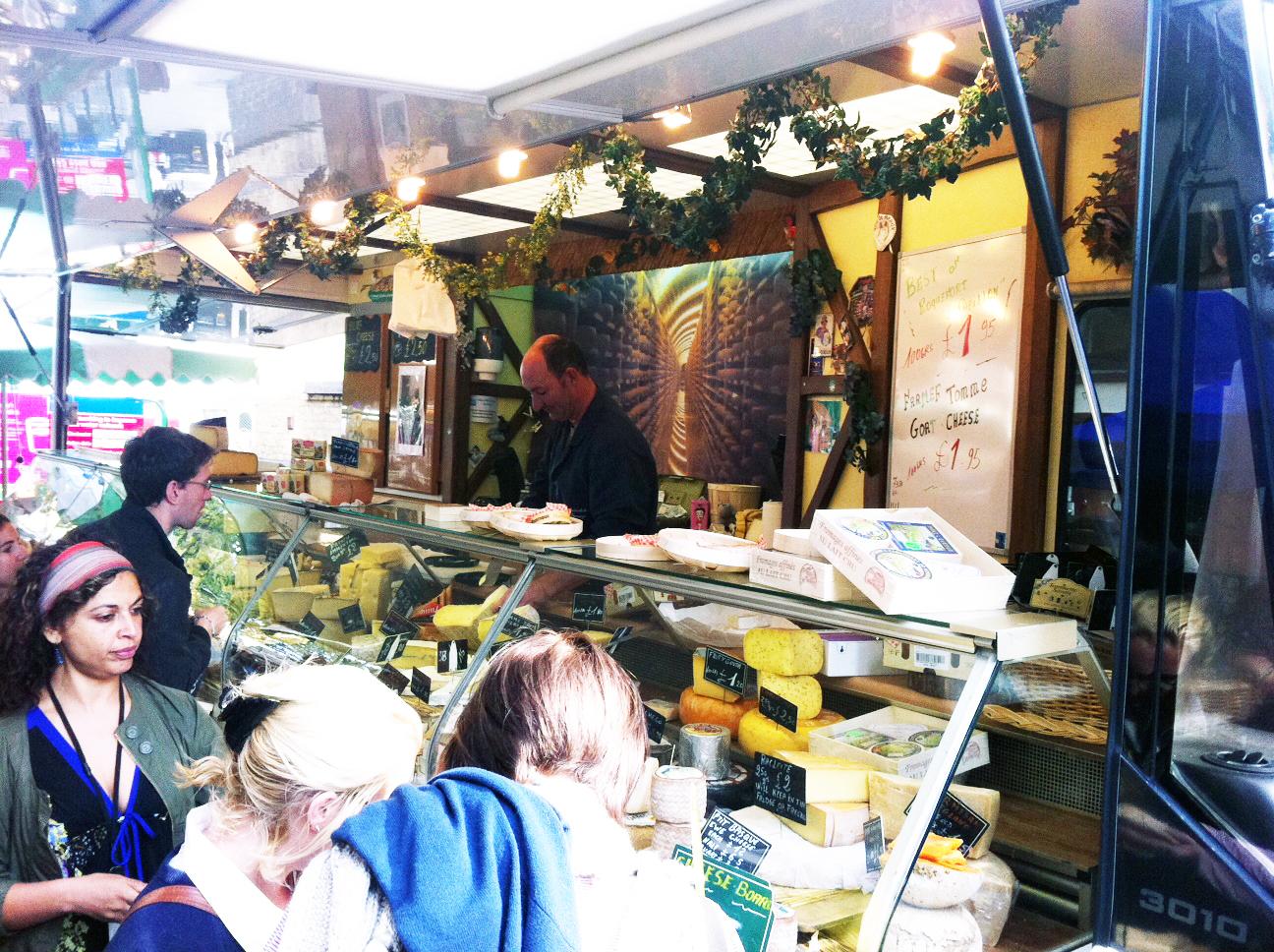 Street Food Market Leather Lane