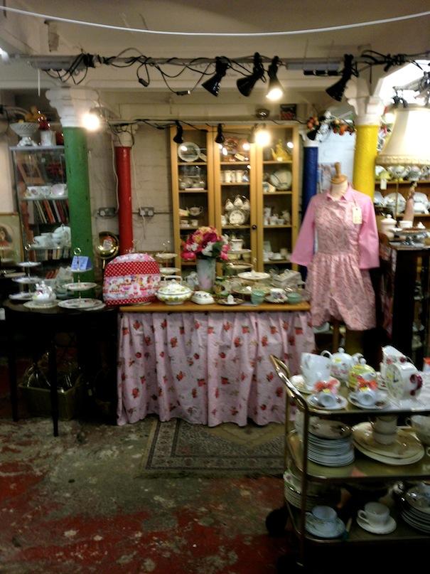 Vintage Tea Room Brick Lane