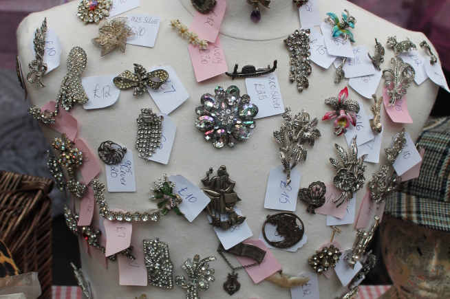Pop Up Vintage Fairs London at Old Spitalfields Market