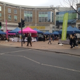 Wimbledon Market on The Piazza