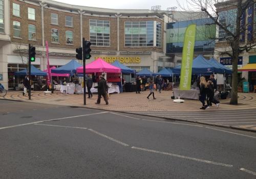 Wimbledon Market on The Piazza