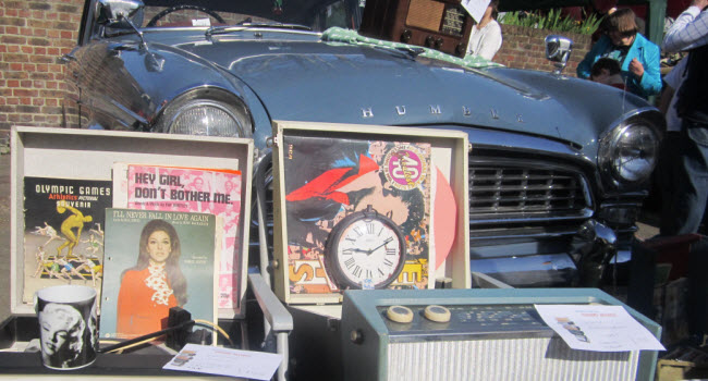 Your Mum will love a trip down memory lane at The Classic Car Boot on Southbank