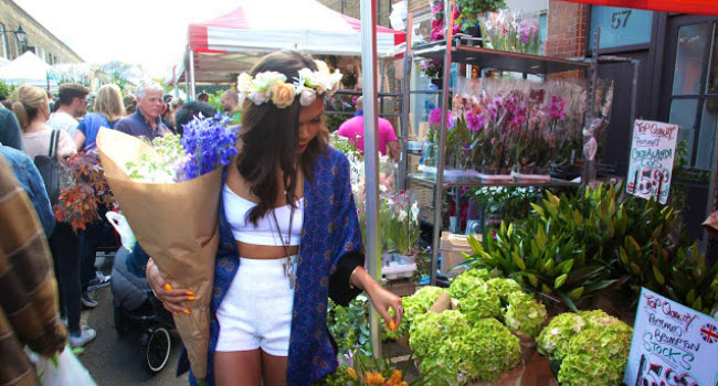 Columbia Rooad Flower Market is the perfect Mother's Day Market