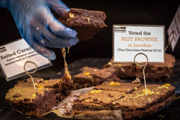 Bad Brownie at Rope Walk at Maltby Street Market