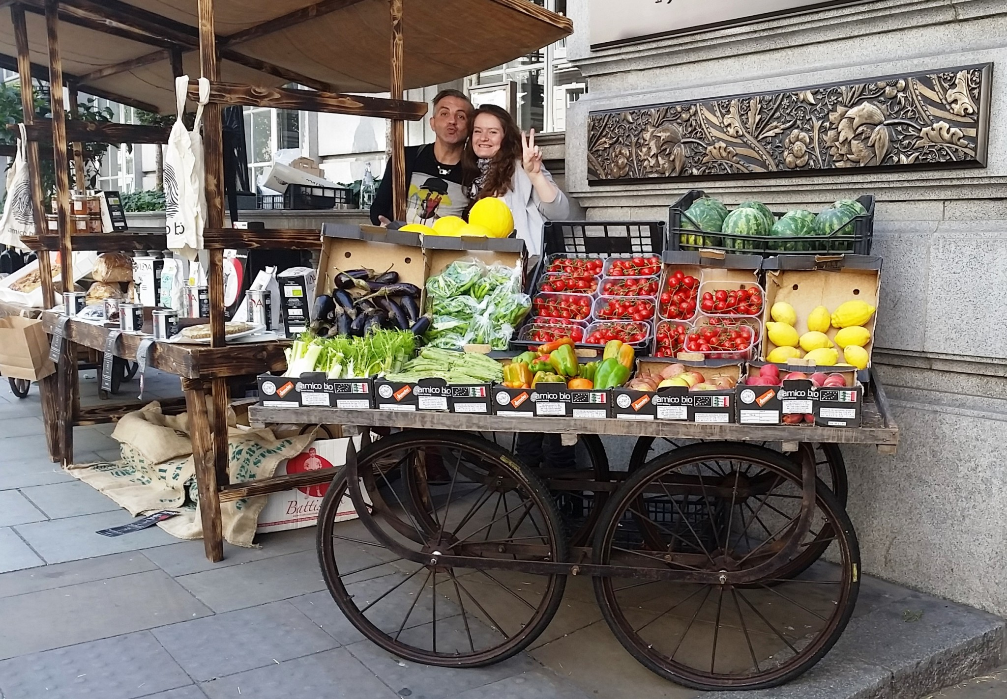 A 5 Star Market Experience at The Slow Food & Living Market at