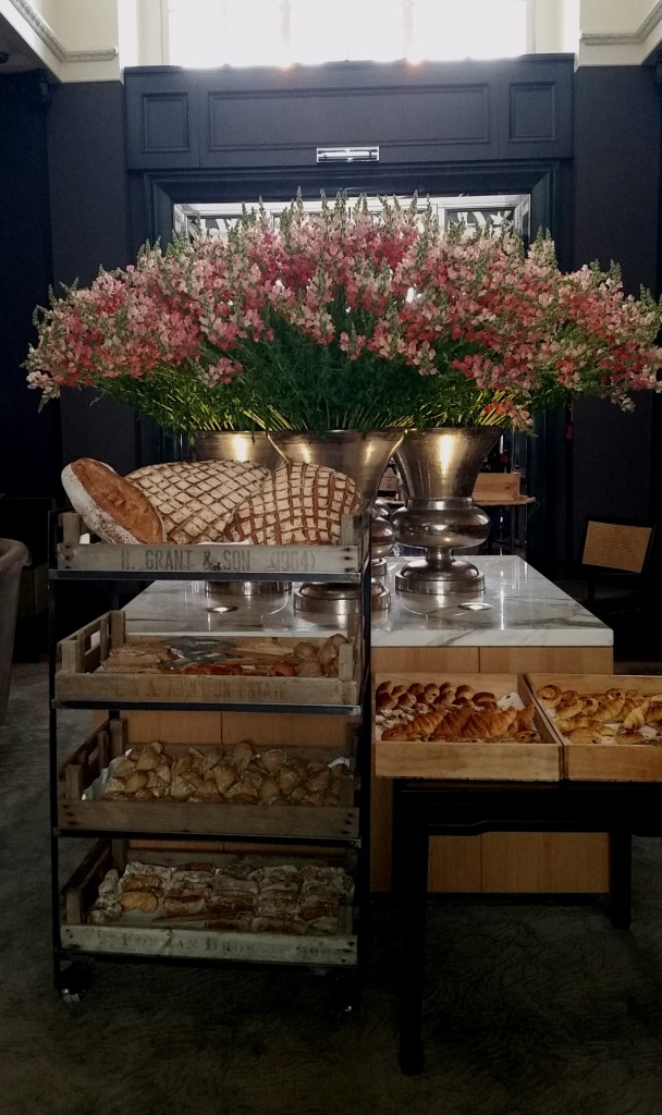 Bread and Flowers at the Sunday Brunch Rosewood Hotel London i love markets