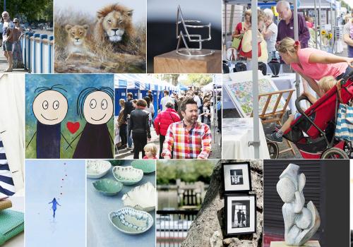 Putney Pier Art Market