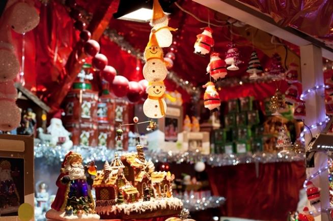 london christmas marked