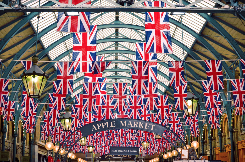 Covent Garden Apple Market Copyright protected