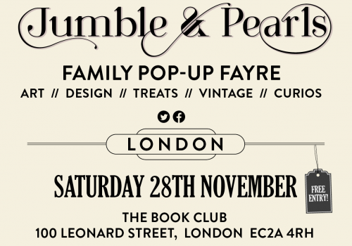 Jumble & Pearls Pop Up Christmas Fayre