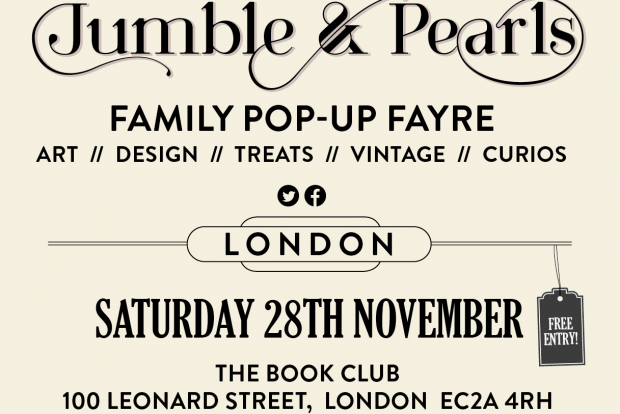 Jumble & Pearls Pop Up Christmas Fayre