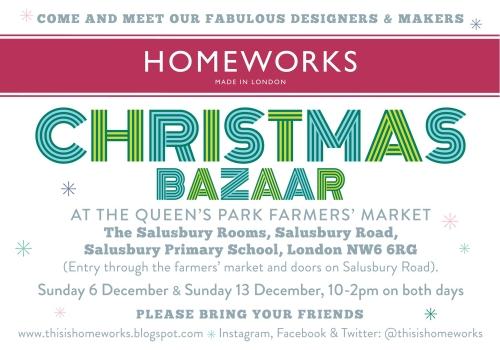 Homeworks Christmas Bazaar