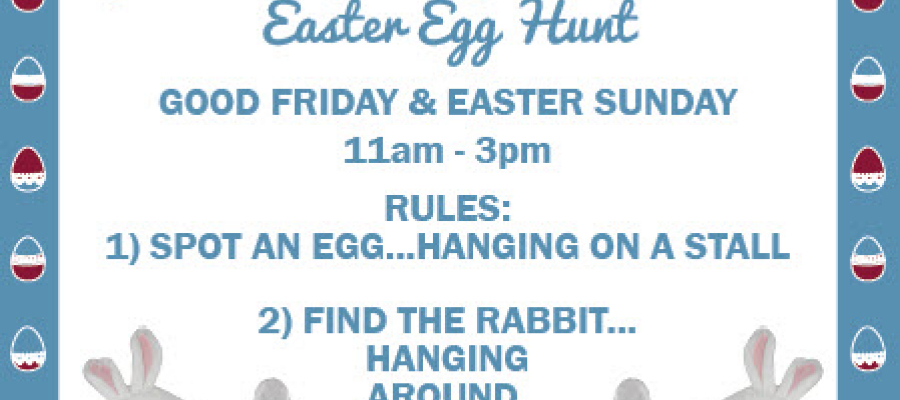 Easter Egg Hunt at Jubilee Market Covent Garden
