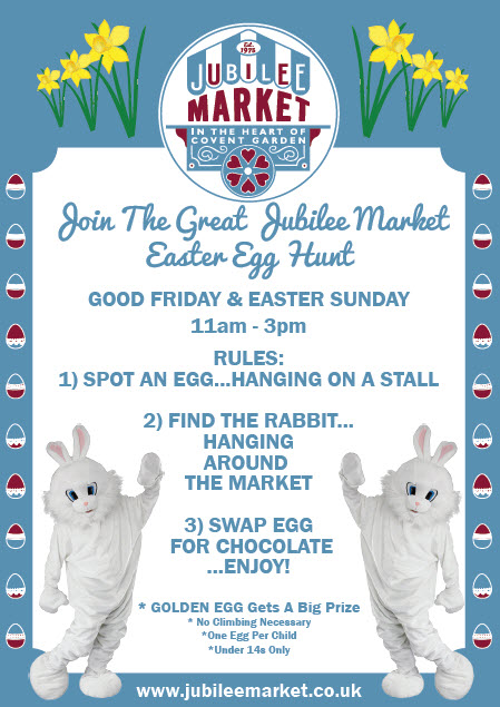 The Jubilee Market Easter Egg Hunt