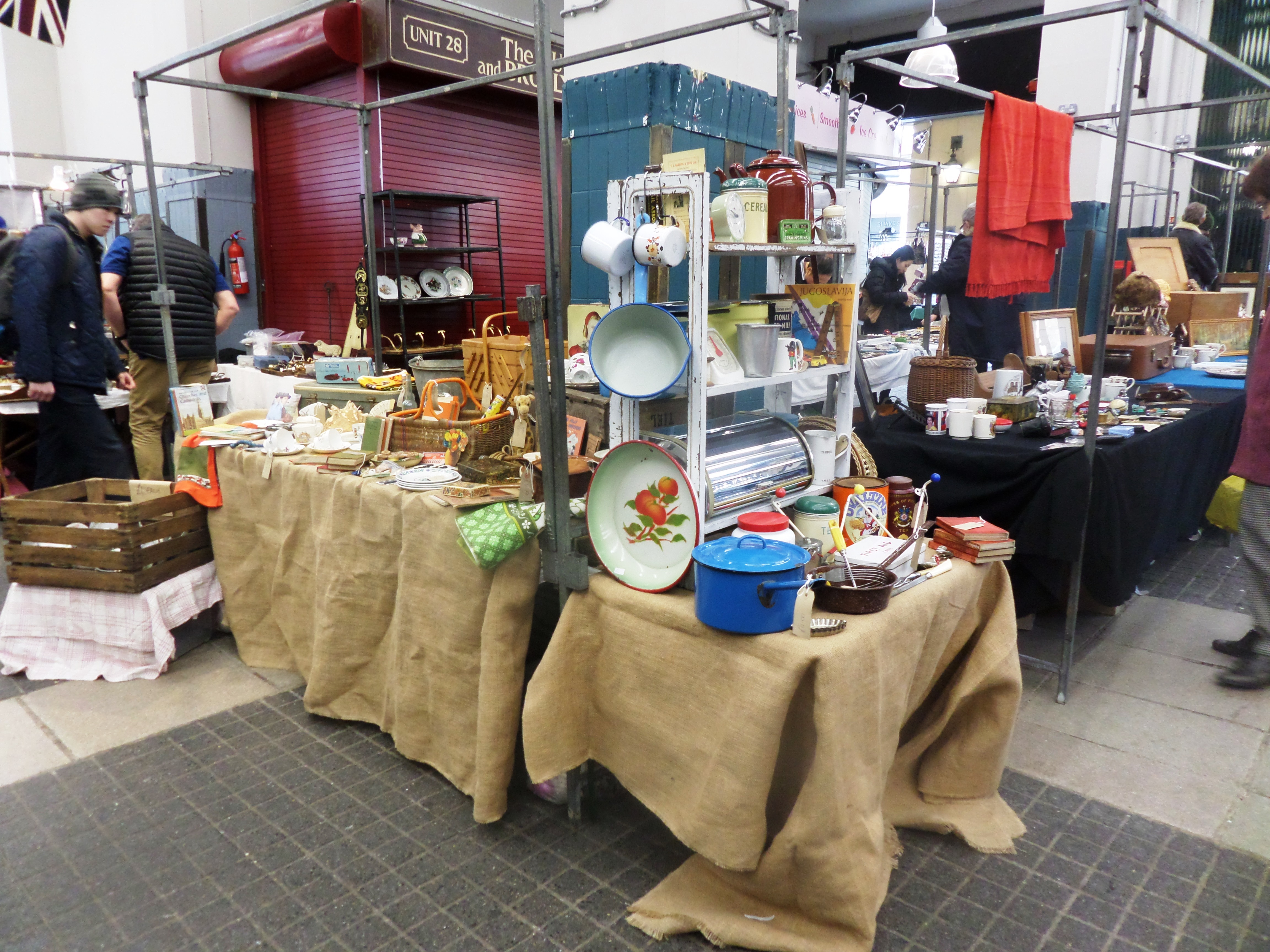 b2a3ab030f Homeware at the Antiques and Collectables Market Jubilee market Covent  Garden