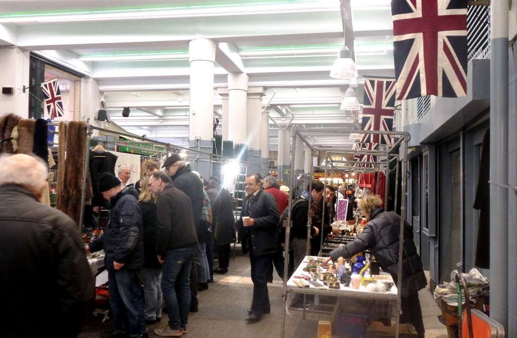 Our visit to Antiques and Collectables Market at the Jubilee Market Covent Garden