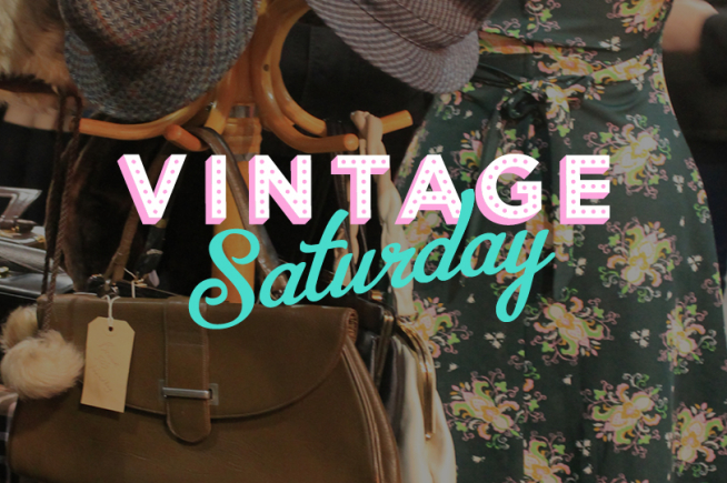Vintage Saturday at Old Spitalfields Market