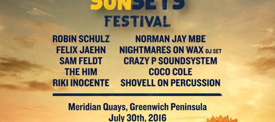 Trade at the Corona Sunset Festival Greenwich Peninsular