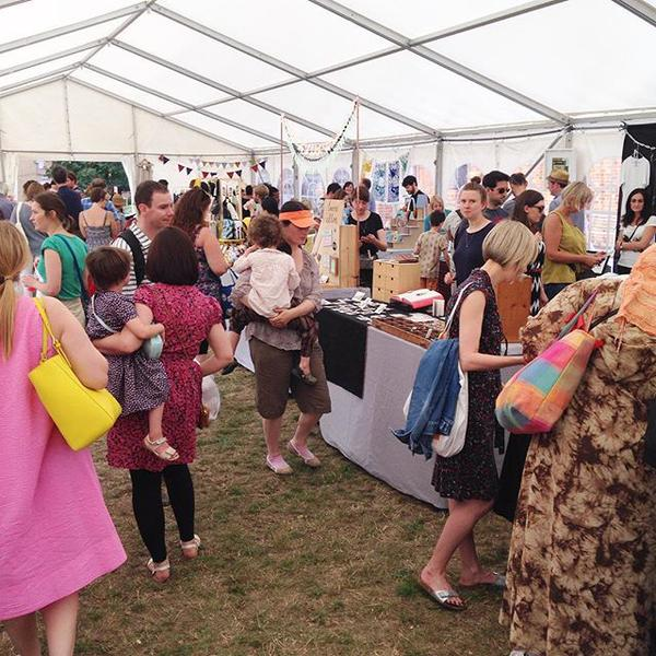 E17 Designers' Marquee at the Walthamstow Garden Party: