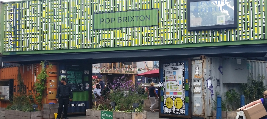 Pop Brixton – Firing at Point Blank!