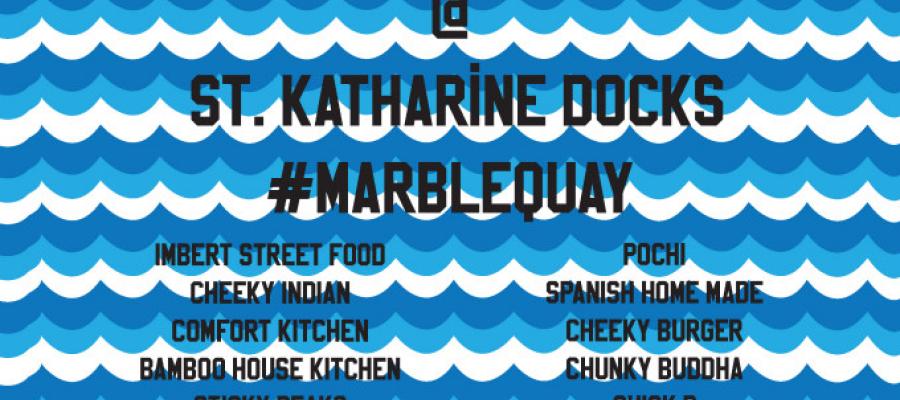 World Food Market at St. Katharine Docks (Marble Quay)