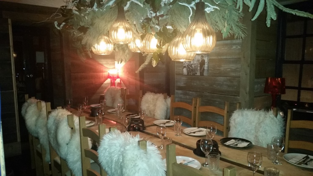 Private Dining Room at The Lodge. Read the Review