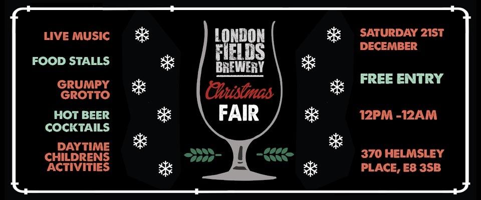 London Fields Christmas Fair 2016