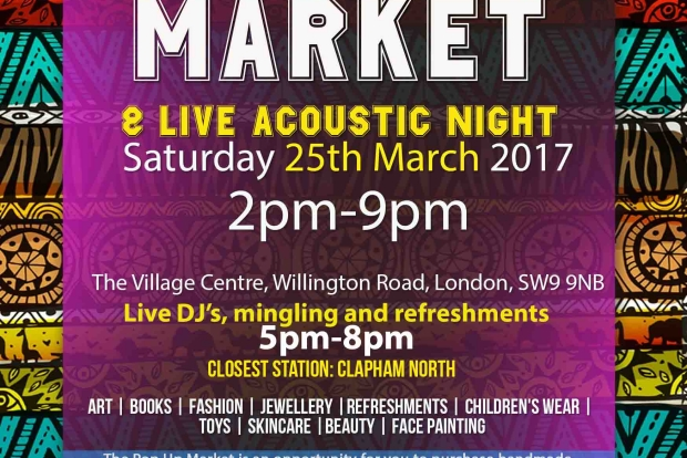The Village Pop Up Market, Debate and Showcase