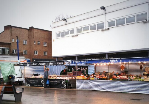 The Blue Anchor Market