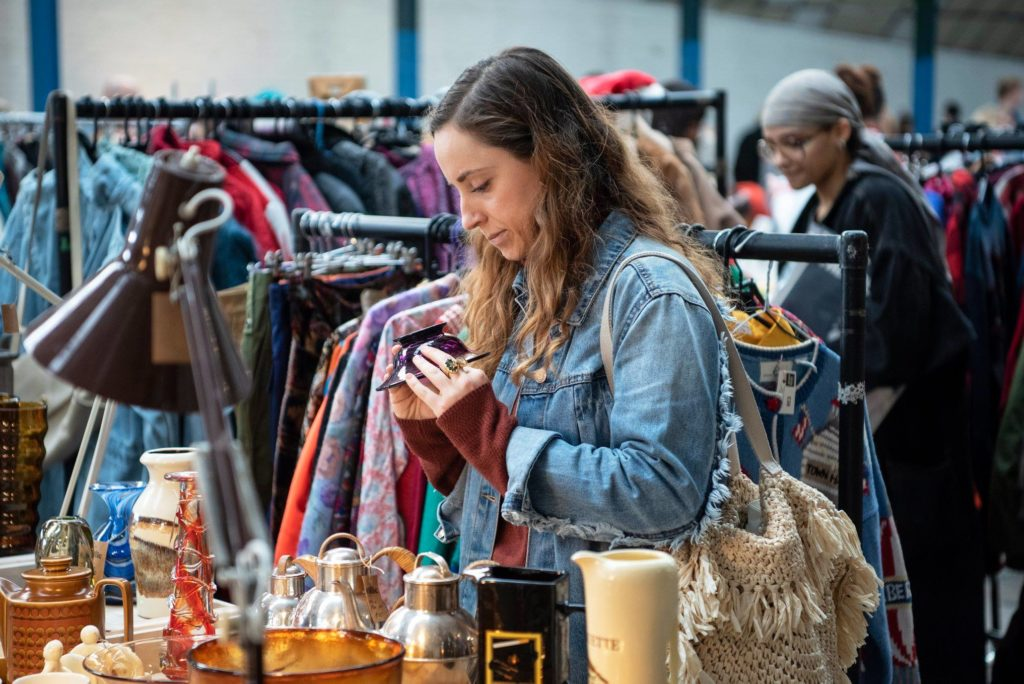 Visit Hackney Flea and Peckham Salvage Yard for indoor flea markets