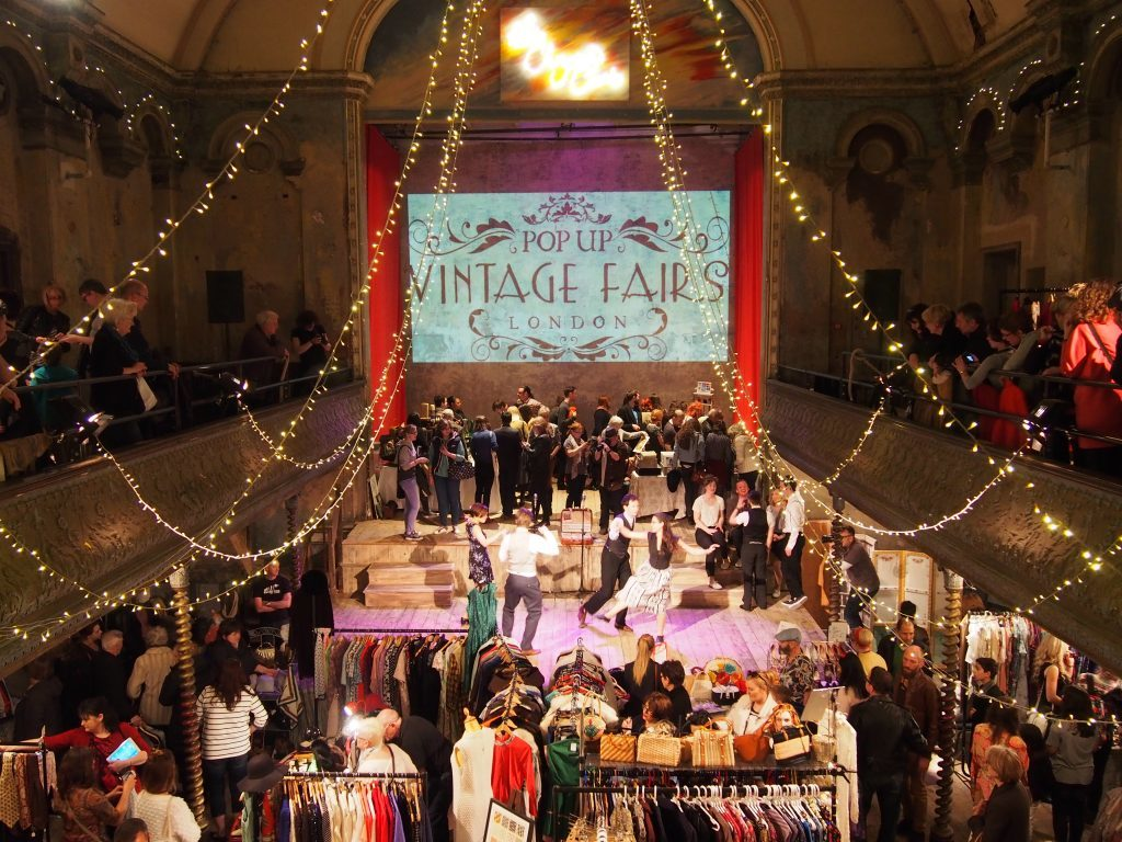 Pop-UP Vintage Indoor Vintage Market at Wilton's Hall
