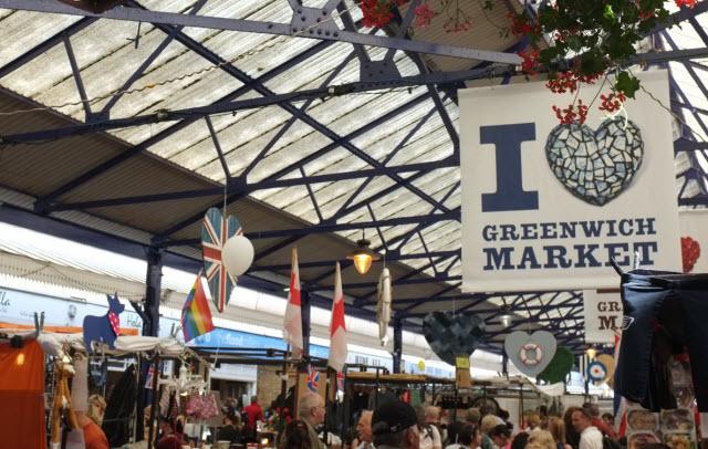 Greenwich Market best indoor market London