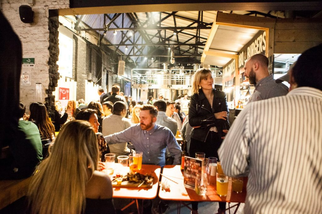 Eat Street and drink from independent brewers at Mercato Metrpolitano
