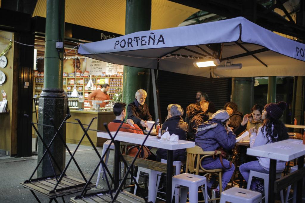 Food glorious food at Borough Market visit Portena empanadas