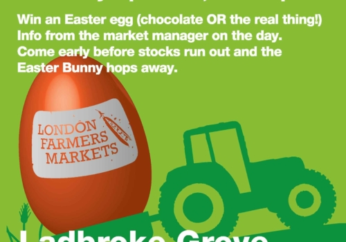Easter Trail at Ladbroke Grove Farmers Market