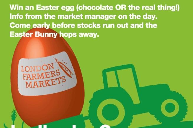 Easter Trail at Ladbroke Grove Farmers Market