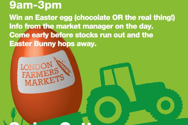 Easter Trail at Swiss Cottage Farmers Market