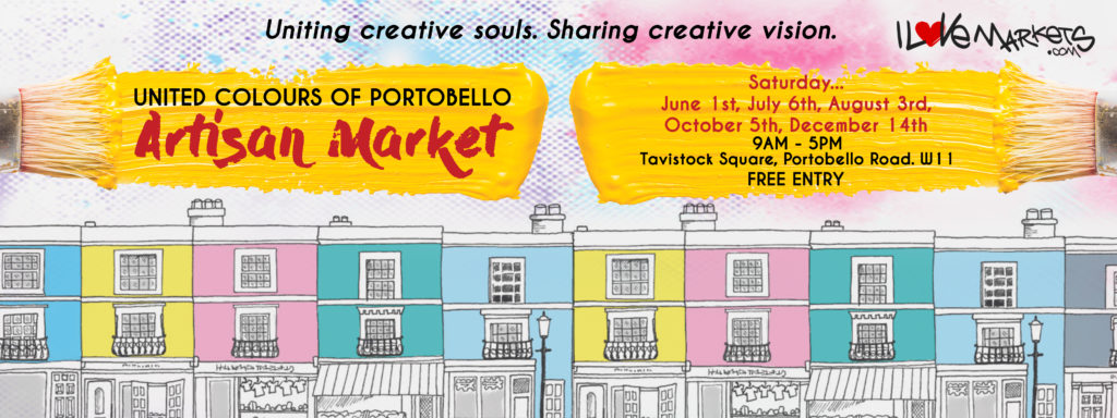 Launching June 1st United Colours of Portobello Market