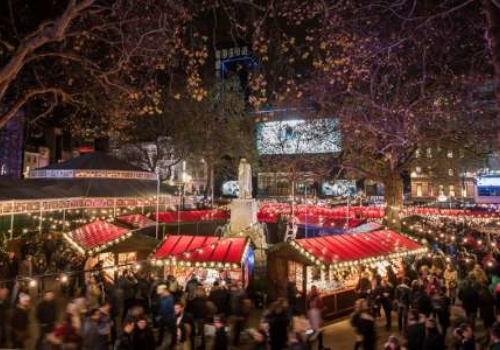 Leicester Square Christmas Festival and Markets 2019