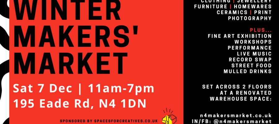North London Makers Market – Festive Edition