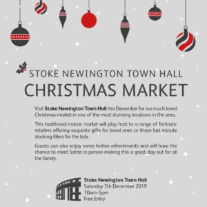 Dec 7, 2019 at Stoke Newington Town Hall