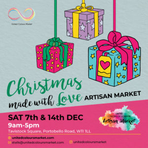 Christmas Artisan Market Portobello Dec 7 & 14