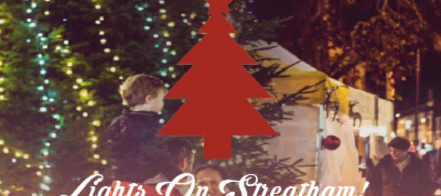 Streatham Festive Market and Christmas Lights on
