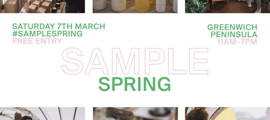 SAMPLE Spring: London's Seasonal Urban Design Market