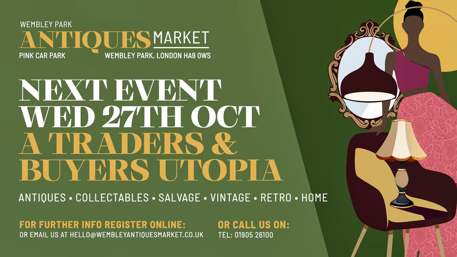 Wembley Antiques Market