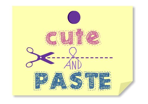 Cute & Paste