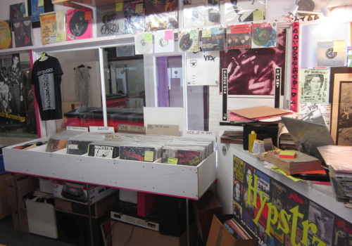 HYPSTRZ record shop