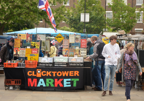 Greenwich Clock Tower Market